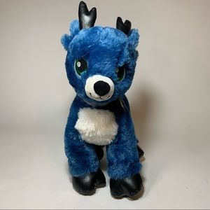 Build A Bear Tinsel Reindeer Merry Mission Plush